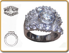 Ring Design Sketch Artist